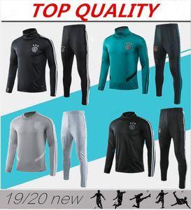 en kaliteli 2019 2020 Ajax FC Futbol Formalar eğitim takım elbise 19 20 Maillots de futbol Huntelaar TADIC futbol eşofman ceket