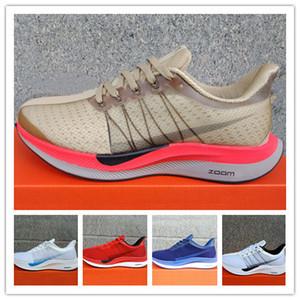2018 Hava Zoom Pegasus Turbo 35 Koşu Ayakkabıları Erkek kadın Orijinalleri Için Pegasus 35 Astar Net Gazlı Bez Sneakers Eğitim ayakkabı EUR Boyutu 36-45