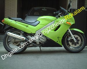ABS Motorbike Motorcycle For Kawasaki ZZR-250 90-07 ZZR250 ZZR 250 1990-2007 Green Black Bodywork Aftermarket Kit Fairing