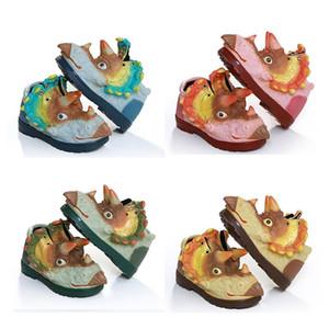 Neue kreative 3D Dinosaurier Schuhe Kinderschuhe Babyjungen Medium Kindersport warme weiche bequeme Größe 25-30 Art Halten 1