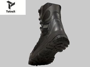 TOtrait un'escursione i pattini della neve di inverno di alta qualità militari Flock desert boots degli uomini tattici stivali di combattimento Botas Scarpe di sicurezza lavoro