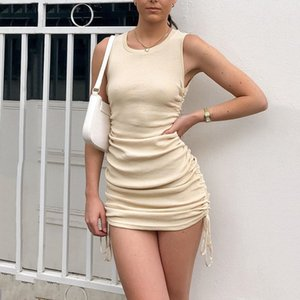Dress Summer Fashion Casual Club Party Women Clothing Sexy Strapless Bodycon Womens Dresses