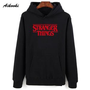 Aikooki Men Hoodie Stranger Things Hoodies Men Cotton Sweatshirt Stranger Things Sweatshirts Women Winter Hoodie Men's 4XL