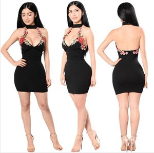 2020 Brand Women Suspender skirt Dress Ladies Summer Clubwear Mini Dress Women Summer Sexy Slim Dresses Polyester Dresses