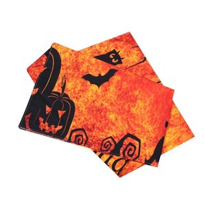 Halloween Background Cloth Printed Cats Tapestry Wall Hanging Decoration Party Supplies