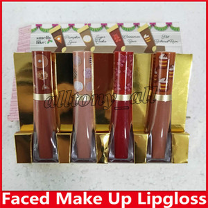 Newest Hot Christmas Faced Brand Lipstick The Sweet Smell of Christmas 4pcs set Melted Matte Lipsticks