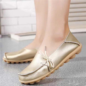 22ss последний модный бренд рыбацкая обувь натуральная кожа мода белые женские туфли повседневные плоские мокасины Doudou обувь кроссовки спорт 269