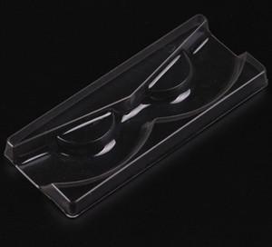 Alta Qualidade Acrílico pestana tipo Pull armazenamento caso caixa de embalagem para a caixa de cílios Magnetic tampa transparente Limpar Bandeja