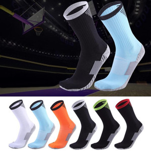 cheap 2020 Basketball sock middle tube professional men sports socks running elite antiskid thickened towel bottom fitness yakuda training