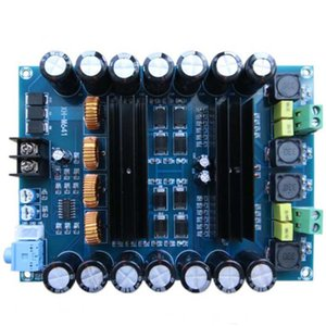 XH-M641 TPA3116D2 DC12V 24V 150W X 2 Audio Digital High Power 2 Channels Car Amplifier with Boost Board G2-010