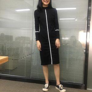 Vêtements pour femmes Robe Robe moulante Slim Fit Automne Printemps Designer Couleur unie Parti OL robes à manches longues