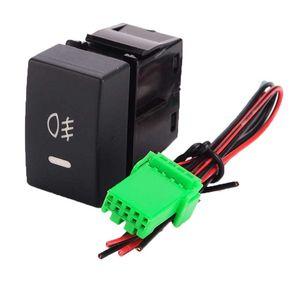Rocker Anahtarı SİS Işıklar 20A 12V Açık / Honda Civic Accord XR-V için LED Işık Geçiş kapatma Açma