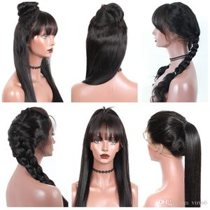 Straight Lace Front Wigs Jingleshair Brazilian Cuticle Aligned Unprocessed Remy Hair Silky Lace Front Wigs for Black Women