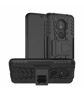 TPU + PC per Motorola MOTO G7 Power US Versione Custodia Armatura resistente antiurto Ibrida Custodia rigida in gomma morbida