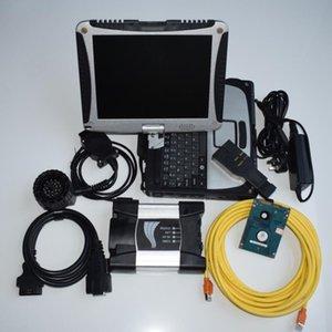 Pour BMW Système de diagnostic Ordinateur portable Toughbook CF19 ICOM Suivant avec HDD 500GB ISTA Mode Expert Prêt à utiliser 2021