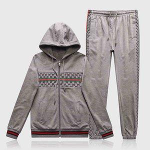 New Jacket Men's Sweatshirt Set Fashion Style Autumn Casual Cotton Sportswear Men's Sweatshirt Medusa Sportswear Size M-3XL