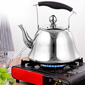 Whistling Kettle for Gas Stove 2L Steel Whistle Tea Kettle Water Bottle Rose Gold