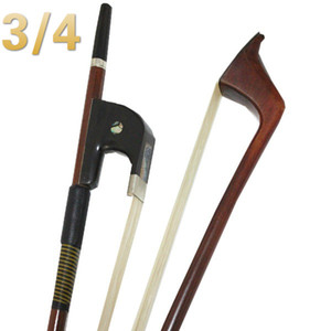 NAOMI Brazilwood Bow 3/4 Kontrabassbogen DOUBLE BASS BOW Deutscher Stil NEU