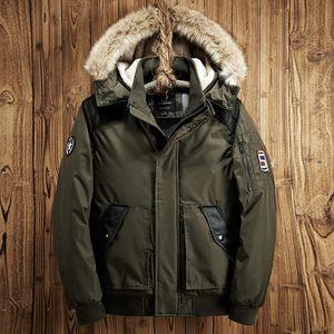 Giacche da uomo in inverno parka uomini casual spessa cappotto caldo cappotto traspirante cappotti a vento giacca maschile parka inviriano hombre abbigliamento