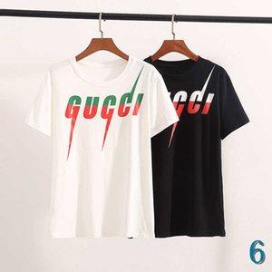 Erkekler Tasarımcı T Gömlek Yaz Lüks tişörtleri Erkekler Kadınlar Marka Üst Çift Tees Katı Renk Moda Gömlek Marka Erkek Giyim Boyut S-2XL 6