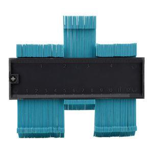 5 polegadas Contorno Perfil Calibre Ladrilho Telhas Laminadas Dá Forma À Madeira Régua Medida ABS Contour Calibre Duplicador de apoio Atacado