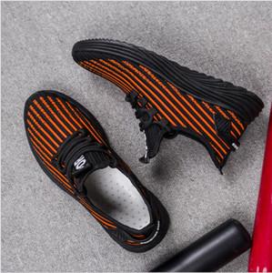 Venta caliente de alta calidad bajo precio diseñador de zapatos cómodos casual ligero de los hombres de moda salvaje zapatos para correr