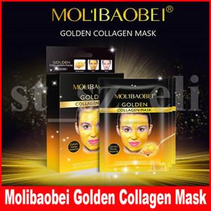 MOLIBAOBEI Золотой Коллаген Peel Off Mask маска для лица Черный Кристалл Золотой Коллаген Черноголовых Remover маска для лица Уход за кожей