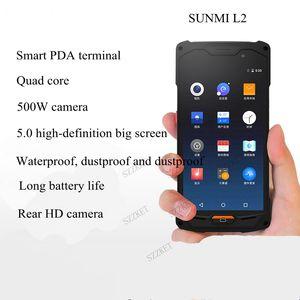 Sunmi L2 stok makinesi PDA terminal veri toplayıcı 1D kod QR kodu barkod tarayıcı akıllı dokunmatik ekran el ile kullanılan