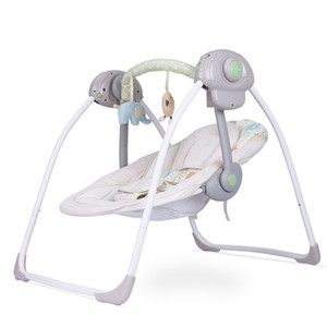 6 gear to soothe the sleeping baby Music rocking chair electric cradle swing baby newborn soothing rocking chair