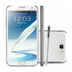 """Оригинальный Samsung Galaxy Note II 2 Dual SIM N7102 разблокирована 16GB 3G 5,5"""" Wi-Fi 8MP Восстановленное телефона"""