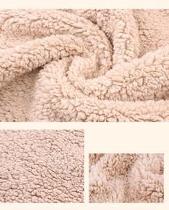 2019 Yenidoğan bebek Faux kürk fotoğraf Prop battaniye bebek uyku kundak Battaniyeleri arka plan fotoğraf arka Fonu katmanlı kumaş