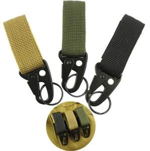 Hommes camping en plein air tactique Sac à dos Carabiner crochets Olécrâne Molle Crochet de survie vitesse EDC militaire en nylon porte-clés