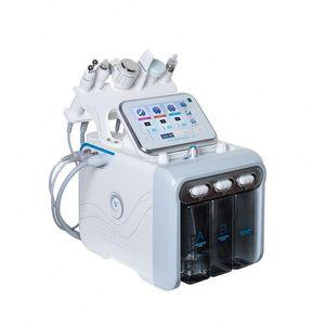 idrogeno inalazione di ossigeno macchina di cura della pelle 6 in 1 bellezza macchina nuovo getto di ossigeno acqua tecnologia H2O2 buccia idra bellezza