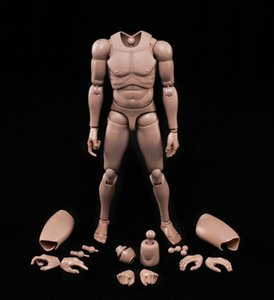 """New 1 6 Action Figure Male Body Caucasian Skin Mx02-a In Stock For 12"""" Action Figure Doll Toys Soldier Model J190719"""