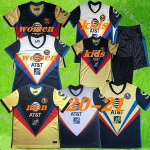 2020 LIGA MX Club America soccer Jerseys 20 21 America home away C.DOMINGUEZ O.PERALTA P.AGUILAR men women+kids Football shirt uniform