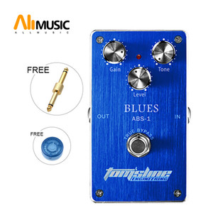 Aroma Tomsline Premium Effect Pedal ABS-1 Blues Tube Distortion Simulation Free Connector