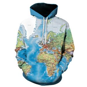 New Hoodie Sweatshirts Earth Sweat Shirt Funny 3D Printed Men Hip Hop Hoody Streetwear Autumn Unisex Hoodie