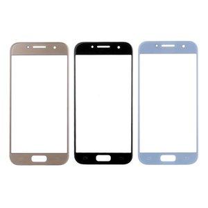 20pcs para Samsung Galaxy A3 A5 A7 2017 vidrio exterior táctil lente de reemplazo cubierta del panel para Samsung A320 A520 A720