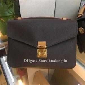 Moda Kadın Bag çanta omuz çantası haberci çapraz vücut torbaları çanta deri tarih kodu çiçek