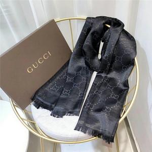 Pañuelo de seda de diseño Nuevo diseño Hilo de oro brillante y plateado Pañuelo de seda Pañuelo de seda de diseño Pañuelos de lujo para hombres y mujeres