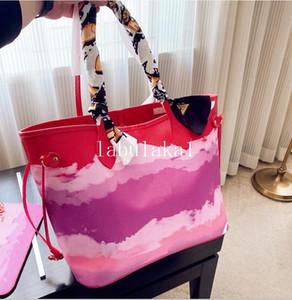 Tote Casual 2020 Hot Sell Mulheres Grande Capacidade Feminino Shopping Bag top de couro de ombro bolsa de praia Composite Bag