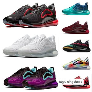 2020 Bred Hot Lava mens trainers man women Sea Forest Neon Spirit Teal pink laser fuchsia triple black white grey sneakers 36-45