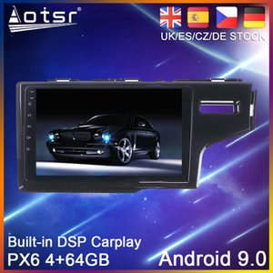 Android 9 PX6 Car DVD Player GPS Navigation For Honda Jazz Fit 3 RHD 2015-2020 Auto Radio Stereo Multimedia HeadUnit