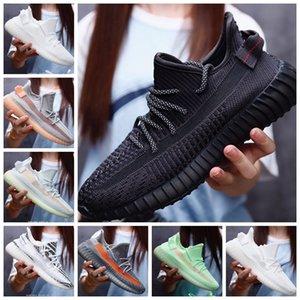 mens trainers designer shoes v2 Kanye West Static casual shoe Cinder Desert Sage Earth Tail Light Womens Mens Trainers mens shoes size 13