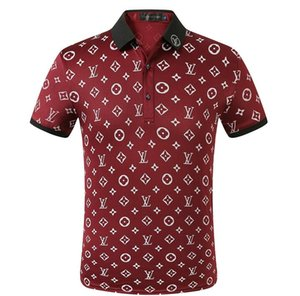 Summer short Sleeve Polos Shirt men Turn-over Collar fashion casual Slim Women's T-Shirt Breathable Solid Color Business polos