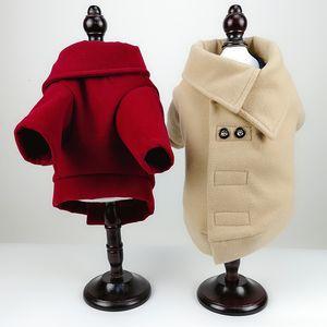 Di alta qualità Autunno Inverno Animali soprabito di lana Cappotto per cani Adatti a gatti vestiti caldi Giacche Outwears per Animali Supplies