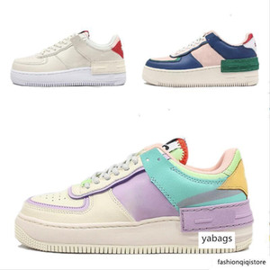 2020 le forze Designer Womens Wmns 07 Utility caramella Macaron delle ragazze delle donne pattini correnti 1 Ombra Sport Dunnk Skateboard Sacai Sneakers