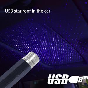 Автомобиль лазерный звездное небо огни автомобиля звездное USB атмосферу огни автомобиля звездное небо потолок украшения USB атмосфера зажигает A02