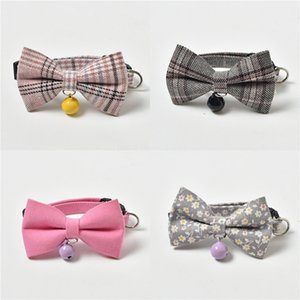 Pet Bowknot Collar Dog Bowknot Collar Cute Cat Dog Necklace Fancy Cat With Xxs Xs S M Crystal Trumpet #118
