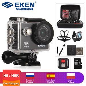 """EKEN H9R / H9 da ação da câmera Ultra HD 4K / 30fps WiFi 2.0"""" 170D Underwater impermeável Helmet Video Recording Câmeras do esporte Cam"""